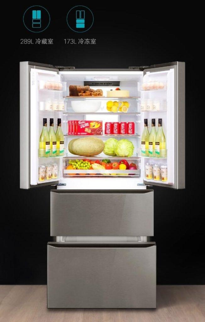 Xiaomi вместе с Yumni запускает французский дверной холодильник с 10,1-дюймовым экраном